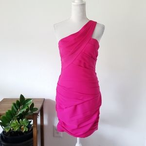 BCBGMaxAzria Versa Cocktail Dress Begonia Pink 6
